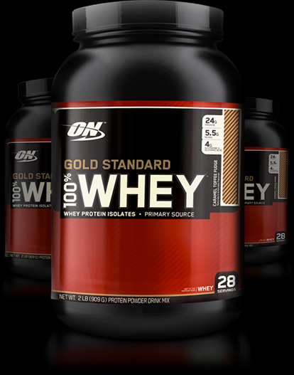 d3081ef3c Whey Protein Gold Standard Optimum 100% Concentrado Nutrition 900g ...